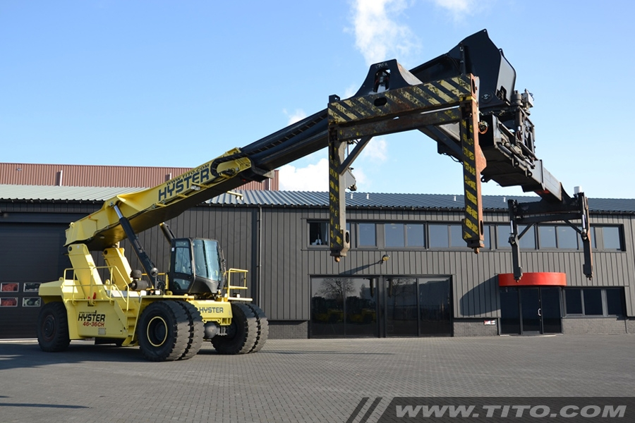 Sold Hyster Rs46 36ch Used 46 Ton Reach Stacker