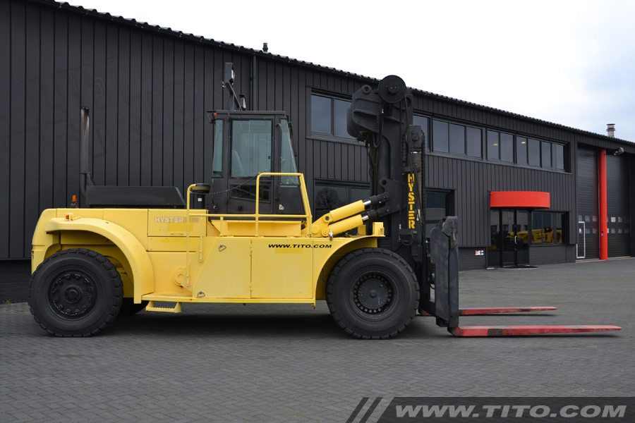 Hyster 25 Ton Hyster Forklift H25 00f Reachstackers