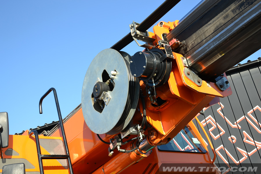 Used Sennebogen 608 MH Multicrane - Currently in rental