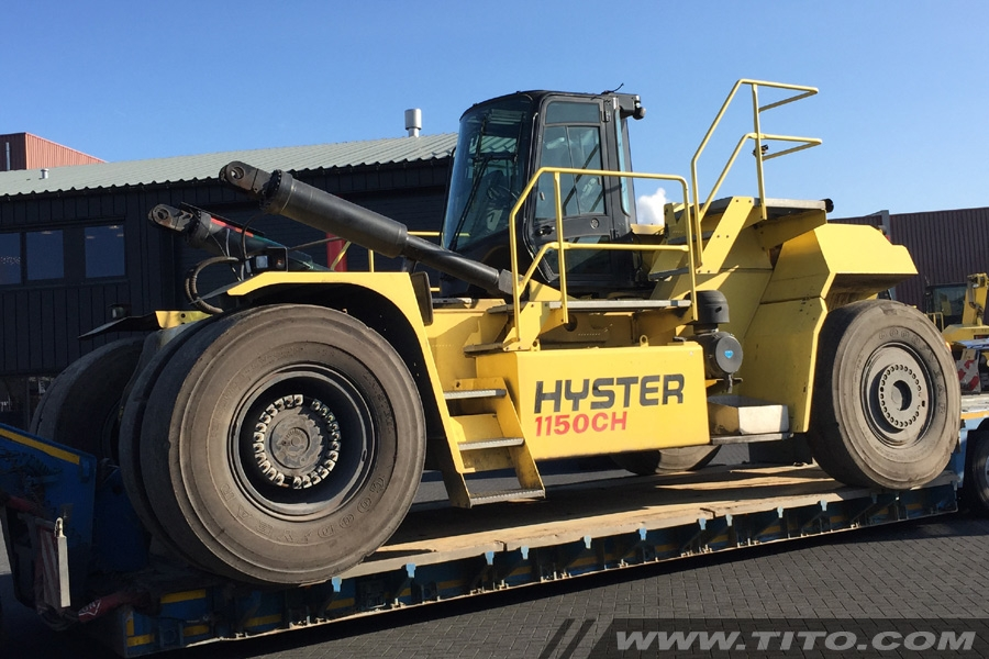 Hyster H1150HD-CH container handler for sale