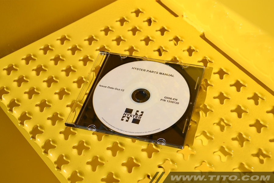 Hyster spare parts manual G006