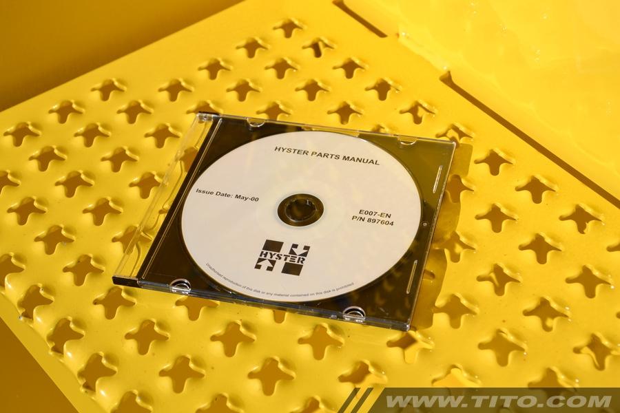 Hyster spare parts catalogue E007