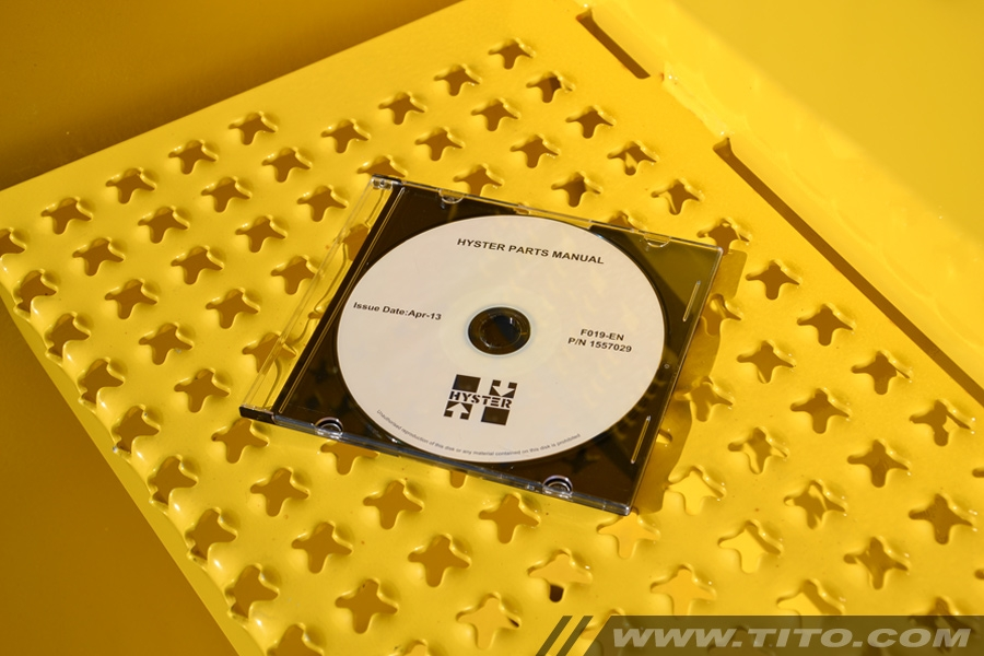 Hyster spare parts manual F019