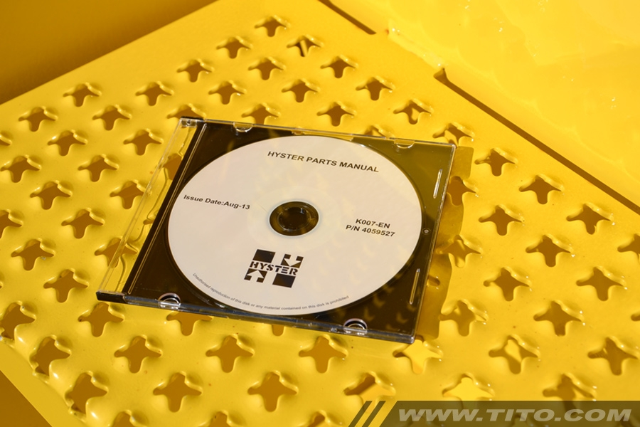 Hyster spare parts manual K007