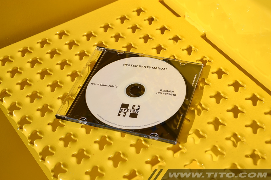 Hyster spare parts manual B299