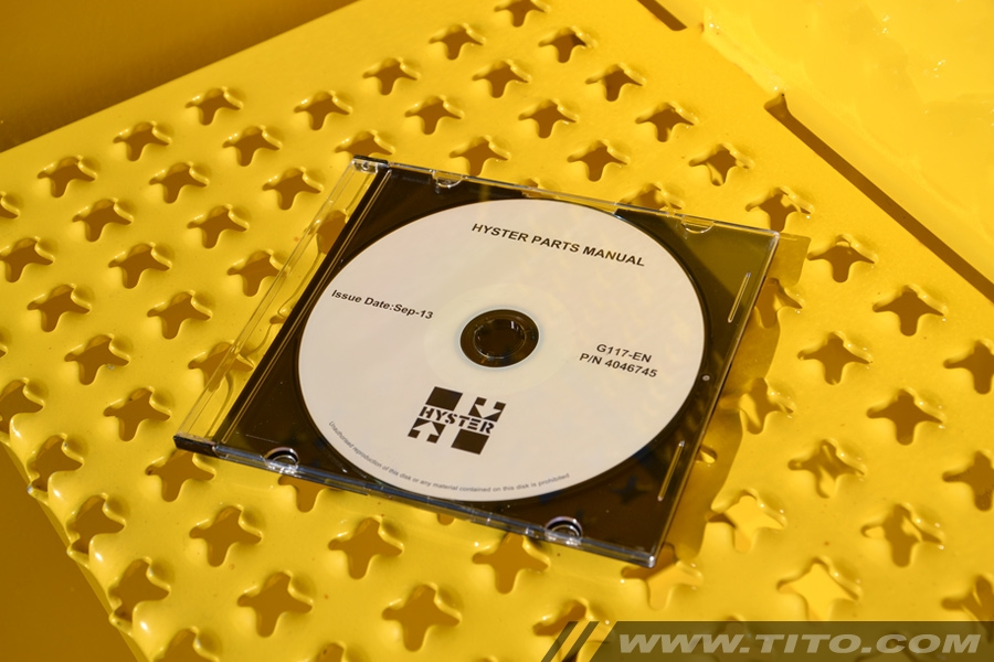 Hyster spare parts manual G117