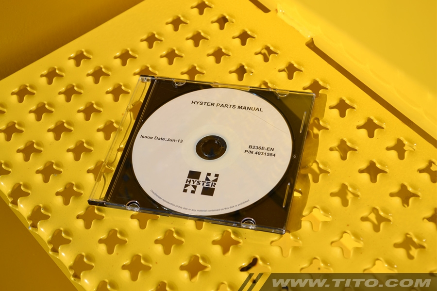 Hyster spare parts manual B236