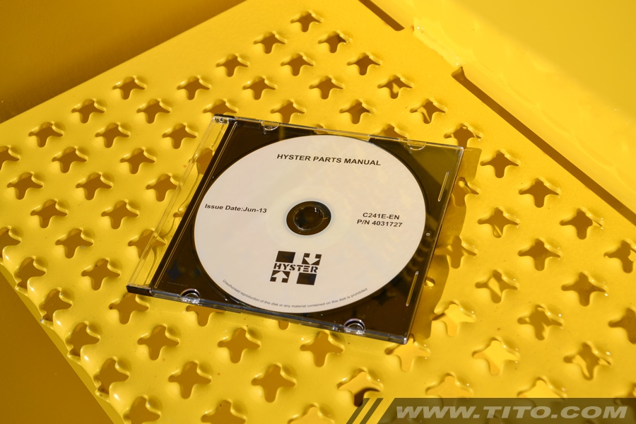 Hyster spare parts manual C214