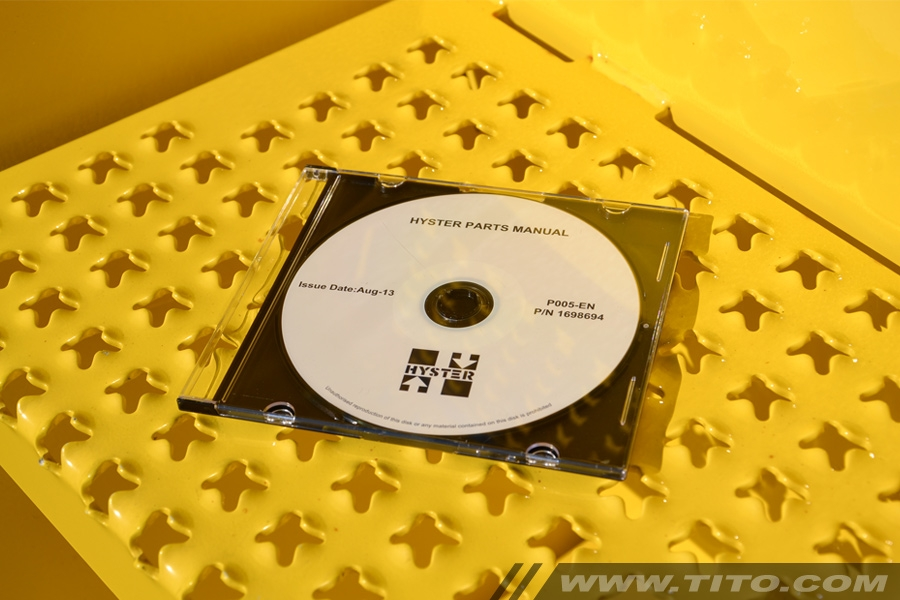 Hyster spare parts manual P005