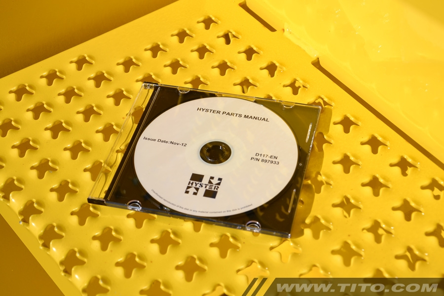 Hyster spare parts manual D117