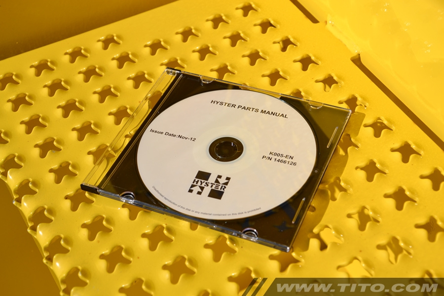 Hyster spare parts manual K005
