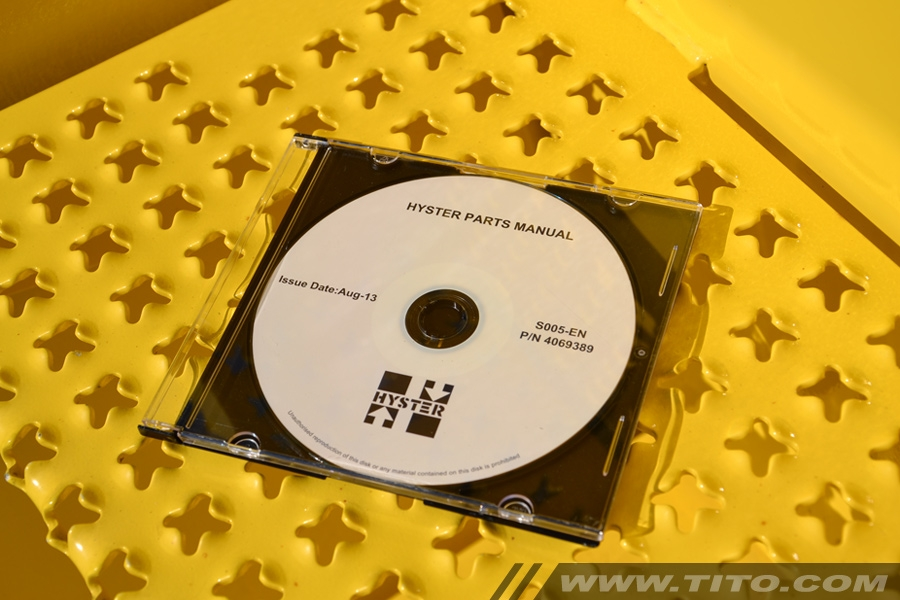 Hyster spare parts manual S005