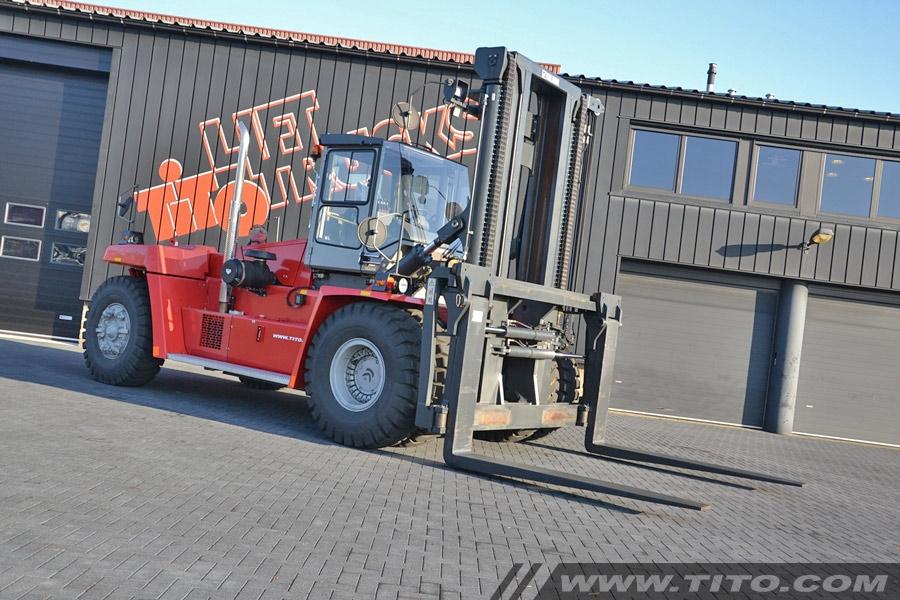 Kalmar DCF300-12LB used 30 ton forklift