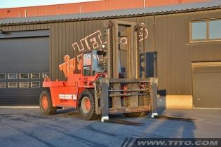 Used 28 ton Kalmar DCD280-12LB forklift for sale