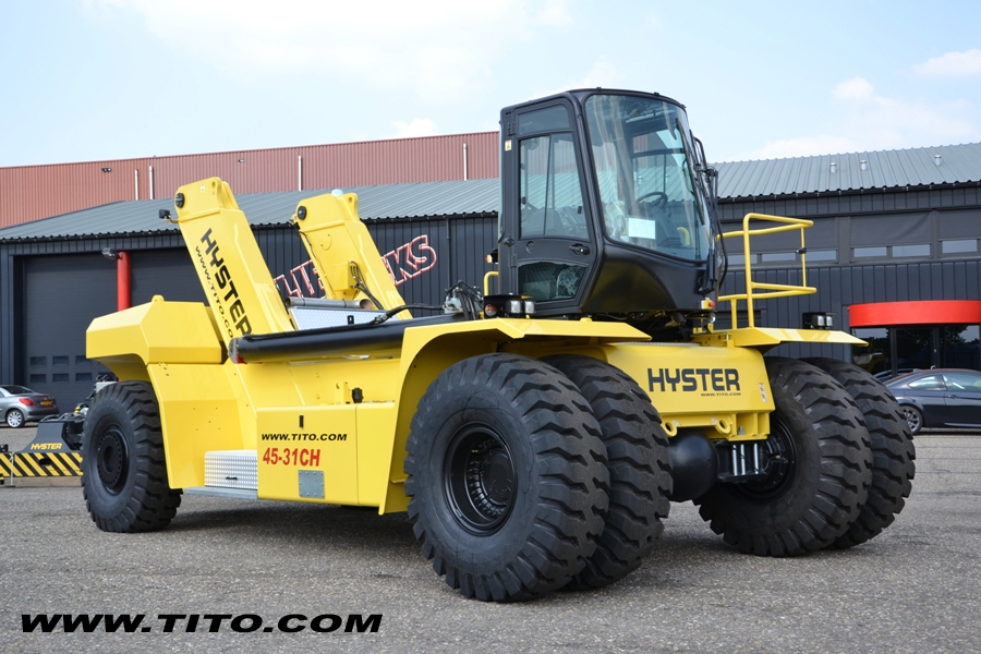 Brand New Hyster Reach Stacker RS45-31CH