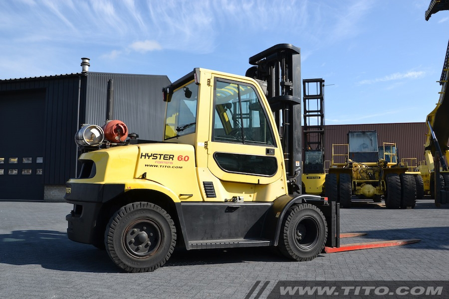 Hyster H6.0FT used 6 ton LPG forklift