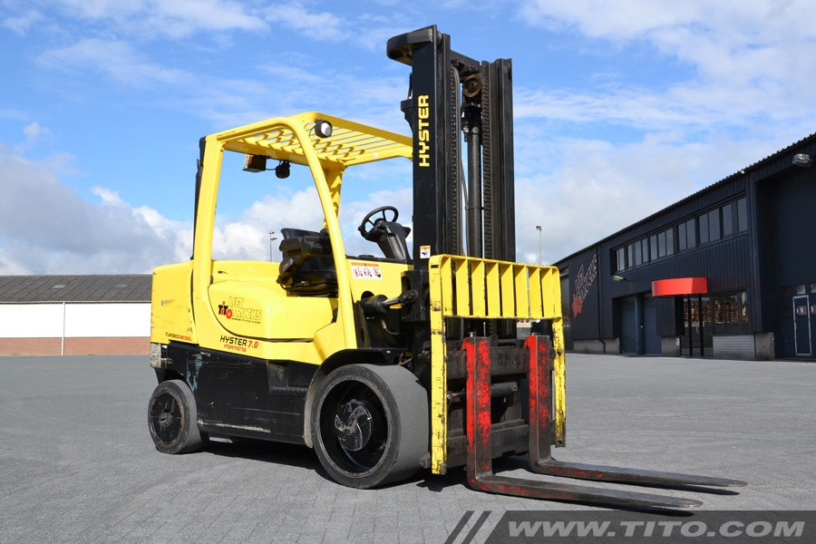 Used Hyster S7.0FT 7 ton diesel forklift