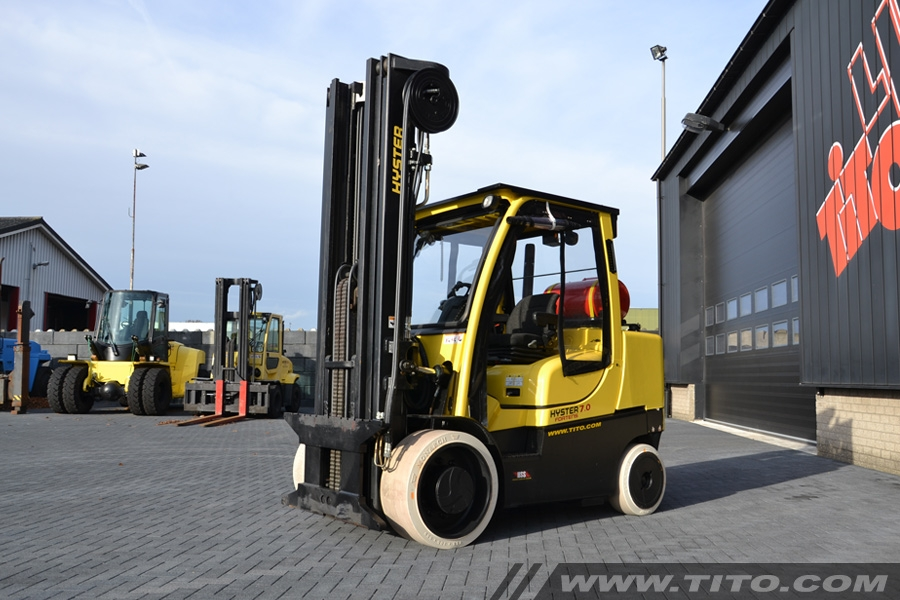 Used Hyster S7.0FT Advance 7 ton forklift