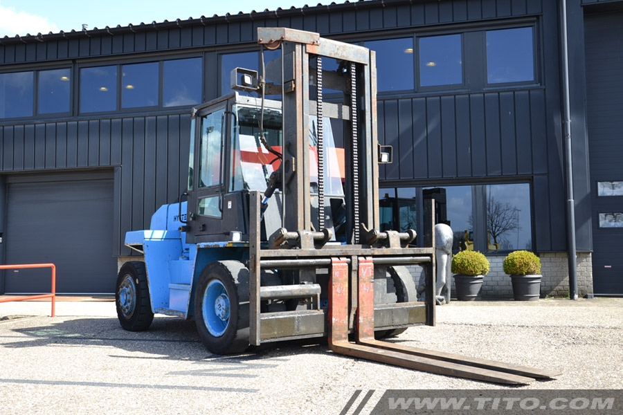 Hyster H9.00XL used forklift 9 ton