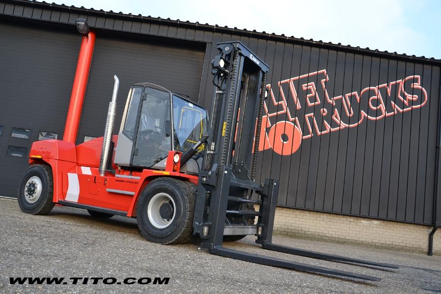 Used 16 ton Kalmar forklift DCE160-12