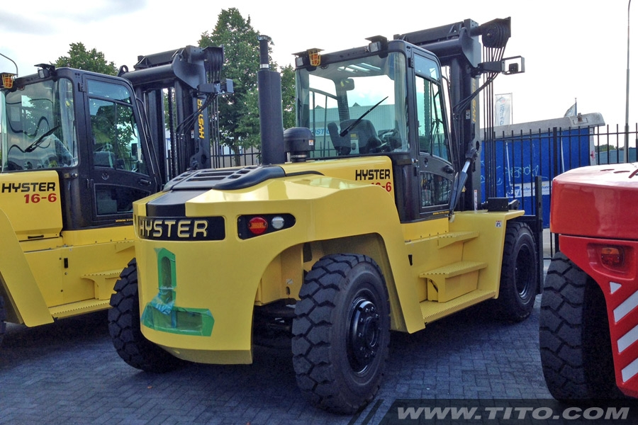 Used 16 ton Hyster forklift H16XM-6 Advance