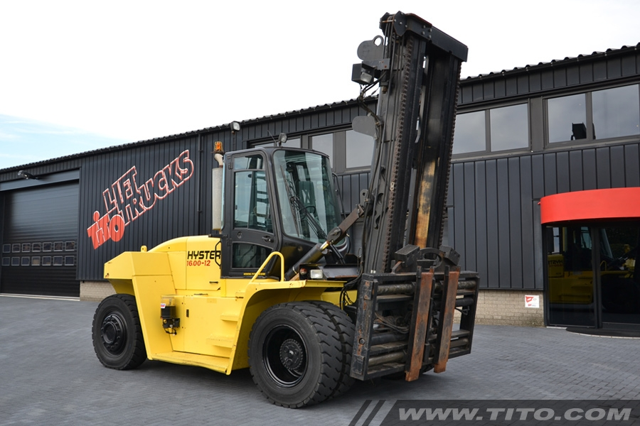 Used 16 ton Hyster forklift H16.00XM-12