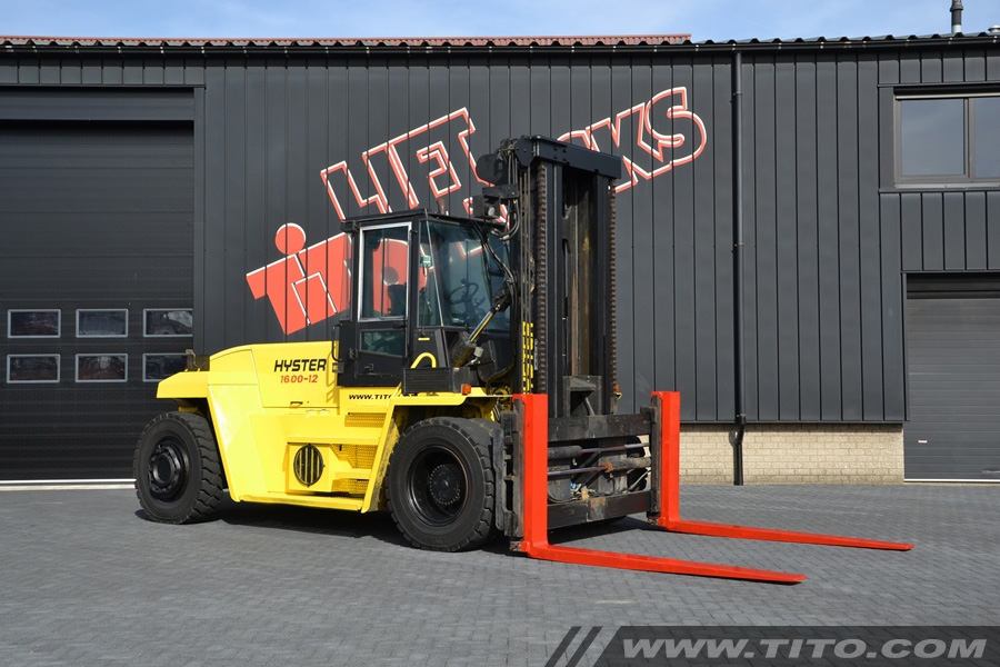 Hyster H16.00XM-12 used 16 ton forklift for sale