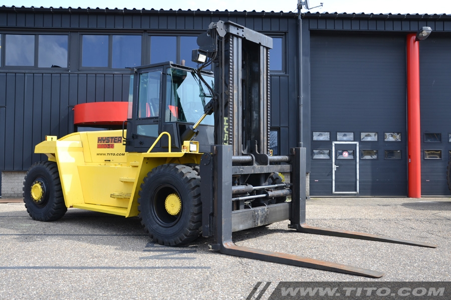 Used Hyster 18 ton forklift H18.00XM-12
