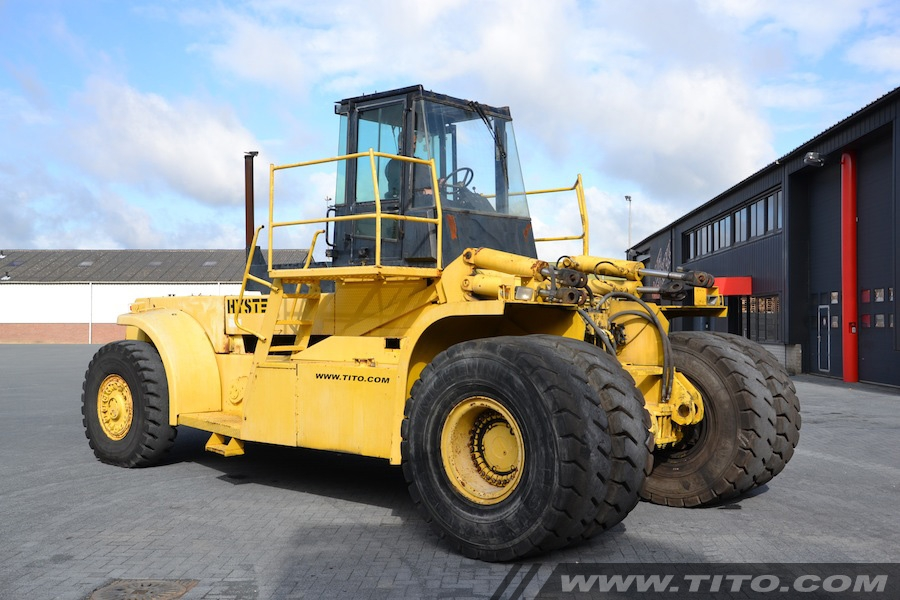 Used Hyster container handler H44.00C-16CH