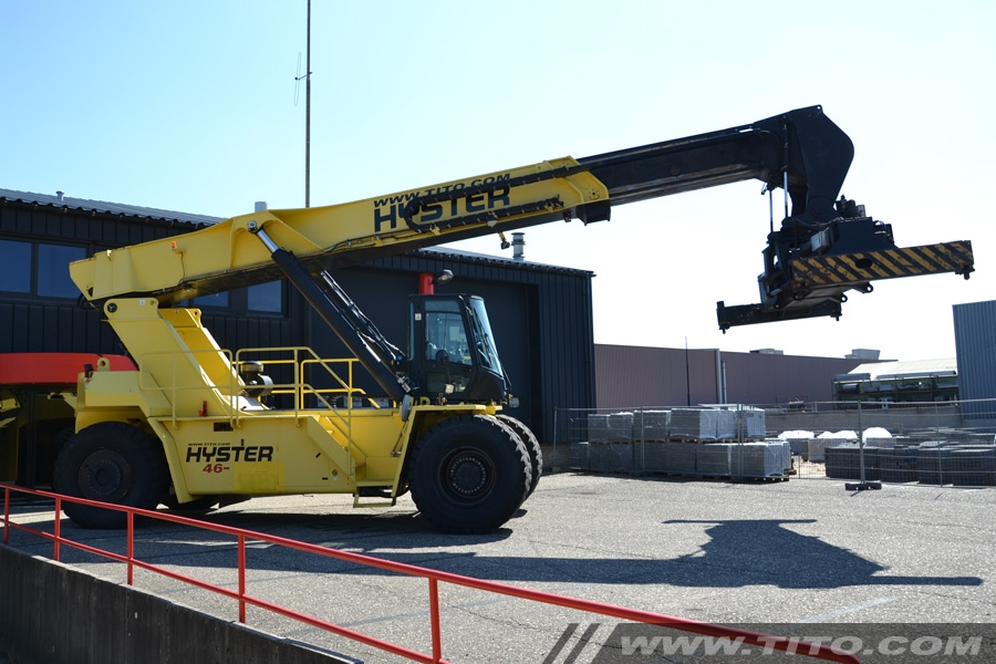 Hyster Reach Stacker RS46-36CH 2007