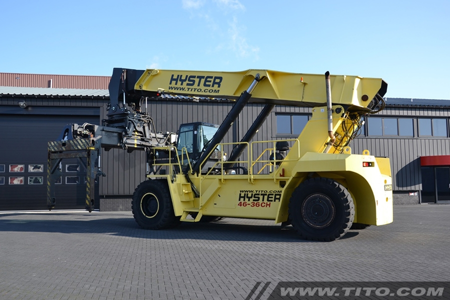 Reachstackers & big forklifts | Tito Lifttrucks | Hyster