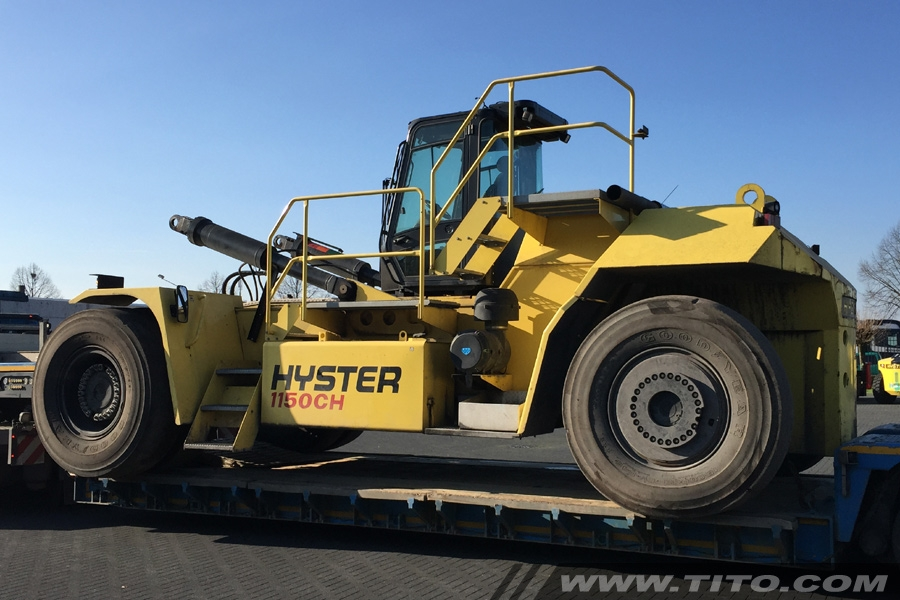 SOLD // Hyster H1150HD-CH container handler