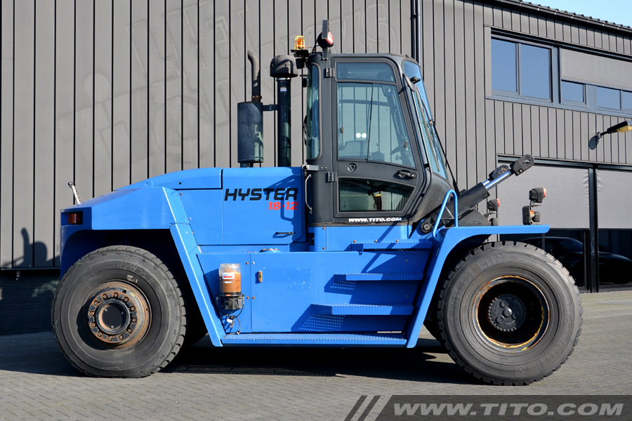 Used 18 ton Hyster forklift for sale
