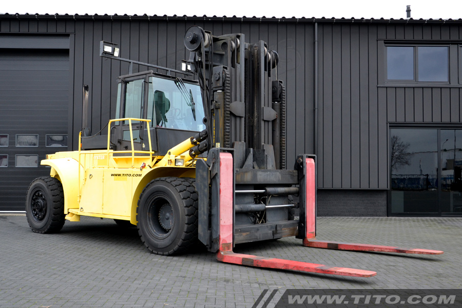 25 Ton Hyster Forklift For Sale Tito Lifttrucks Bv
