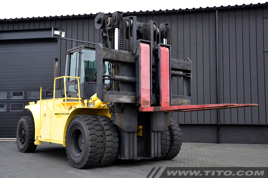 25 ton hyster forklift for sale tito lifttrucks bv. Black Bedroom Furniture Sets. Home Design Ideas