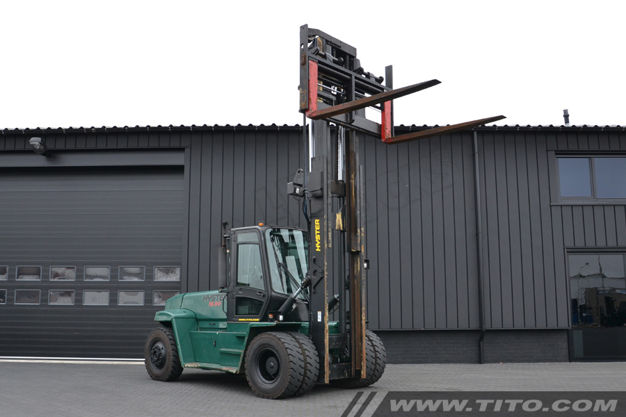 Used Hyster Forklift 16 Ton Tito Lifttrucks Bv