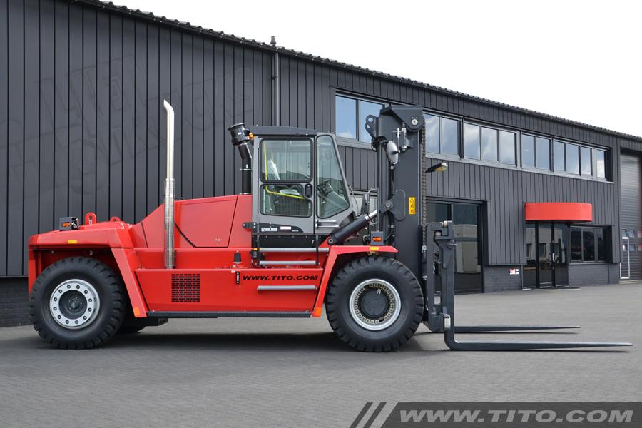 New 25 ton Kalmar forklift for sale
