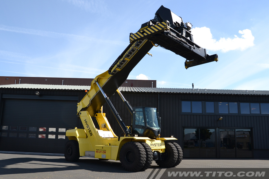 Reachstackers Amp Big Forklifts Tito Lifttrucks Hyster