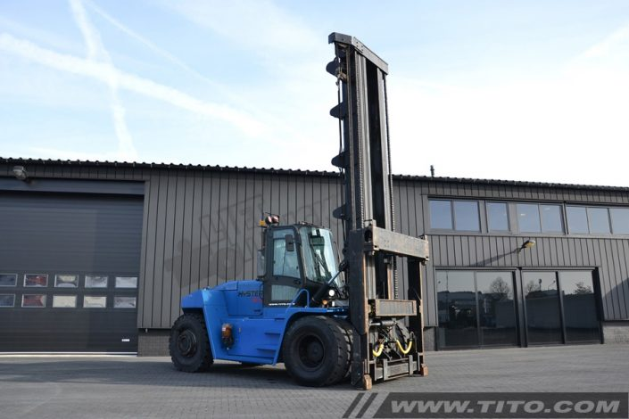 Hyster empty container handler