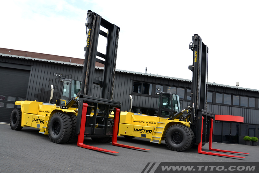 Reachstackers & big forklifts | Tito Lifttrucks | Hyster H40XM-12