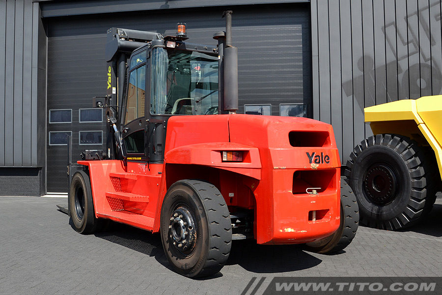 Used 16 forklift for sale // Yale GDP160EB